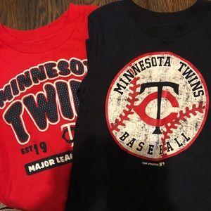 Unisex kids Minnesota Twins T-shirt's